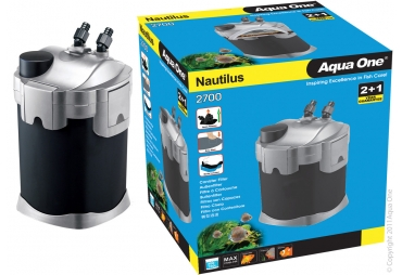 aqua one nautilus 1100 canister filter instructions