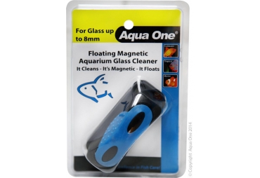 Aqua One Floating Glass Cleaner Med