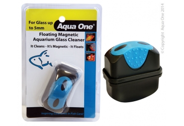 Aqua One Floating Glass Cleaner Sml
