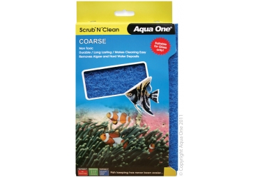 Aqua One Scrub 'n' Clean Coarse Lrg