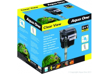 Aqua one Hang on Filter Clear View 100