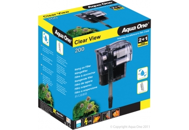 Aqua One Hang on Filter Clear View 200