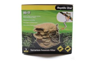 Reptile One Terrarium Fountain Filter 80-TF