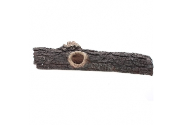 Reptile One Realistic Log Ornament Medium