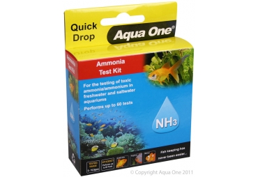Aqua One Quick Drop Ammonia Test Kit