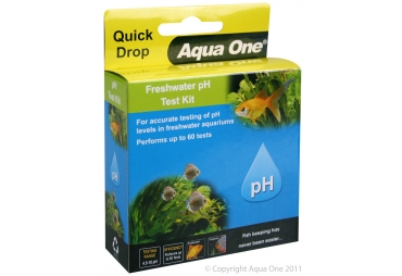 Aqua One Quick Drop Freshwater pH Test Kit