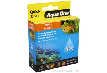 Aqua One Quick Drop Nitrate NO2 Test Kit