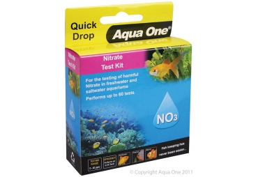 Aqua One Quick Drop Nitrate NO3 Test Kit