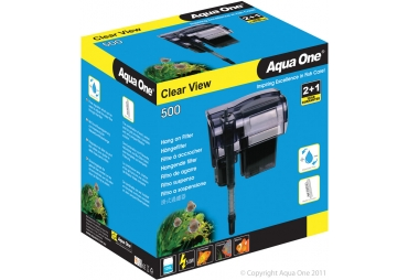 Aqua One Hang on Filter Clear View 500