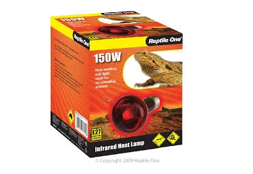Reptile One 150W Infrared Heat Lamp