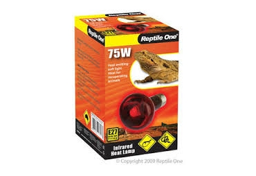 Reptile One 75W Infrared Heat Lamp